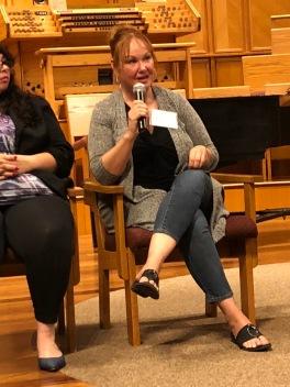 Mindy Woods, moderator